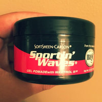 SoftSheen Carson Sportin' Waves with Wavitrol III Gel Pomade uploaded by Sydnie T.