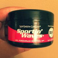 SoftSheen Carson Sportin' Waves with Wavitrol III Gel Pomade uploaded by Sydnie T.