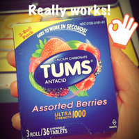 Tums Ultra 1000 Strength Antacid with Calcium Chewable Tablets uploaded by Michelle S.