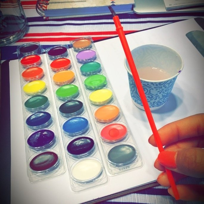 Crayola 24 Ct. Pan Washable Watercolors - 1 ct. uploaded by Leslie L.