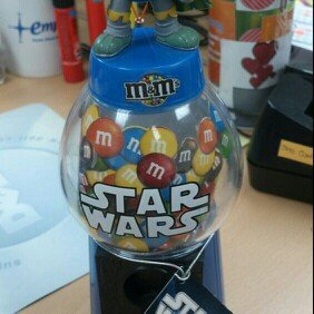 Photo of CandyRific Candy Rific M&M Star Wars 9 Inch Dispenser, 0.53 Ounce(Packaging may vary) uploaded by Susi D.