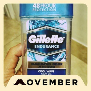 Photo of Gillette 3x Triple Protection System Anti-perspirant Deodorant Clear Gel Cool Wave uploaded by Eliceth S.