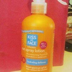 Photo of Kiss My Face Sunscreen Sun Spray Lotion uploaded by Amanda O.