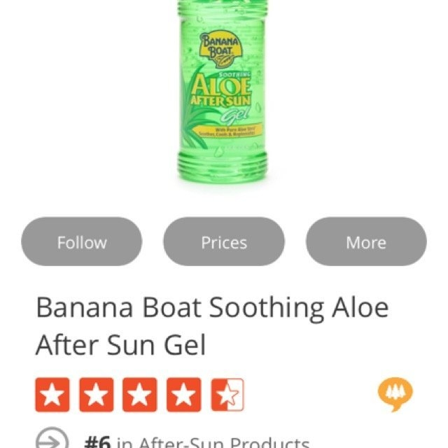 Banana Boat Soothing Aloe After Sun Gel uploaded by Amela A.