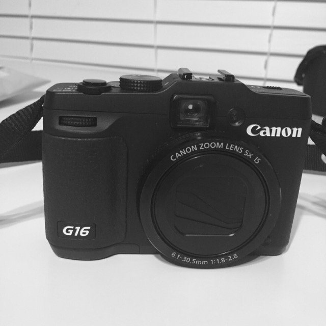 Canon PowerShot G16 Wi-Fi Digital Camera (Black) with 32GB Card + Case + Battery + Flex Tripod + Filter + Tele/Wide Lens Kit uploaded by Vera C.