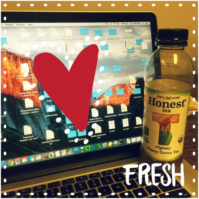 Honest Tea Organic Honey Green Tea uploaded by Annamarie P.