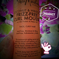 SheaMoisture Coconut & Hibiscus Frizz-Free Curl Mousse uploaded by Nikki M.