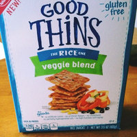 Good Thins Veggie Blend Rice Snacks 3.5 oz. Box uploaded by Kaylyn M.