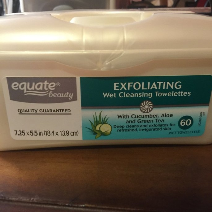 Equate - Facial Cleansing Towelettes, 60 Wet Towelettes(Compare to Ponds Clean Sweep) uploaded by Preston S.