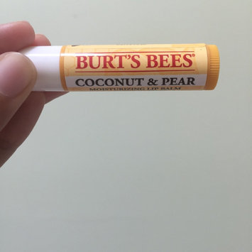 Photo of Burt's Bees Coconut & Pear Lip Balm uploaded by Iqra M.