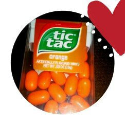 Tic Tac Mints Orange uploaded by Christi G.