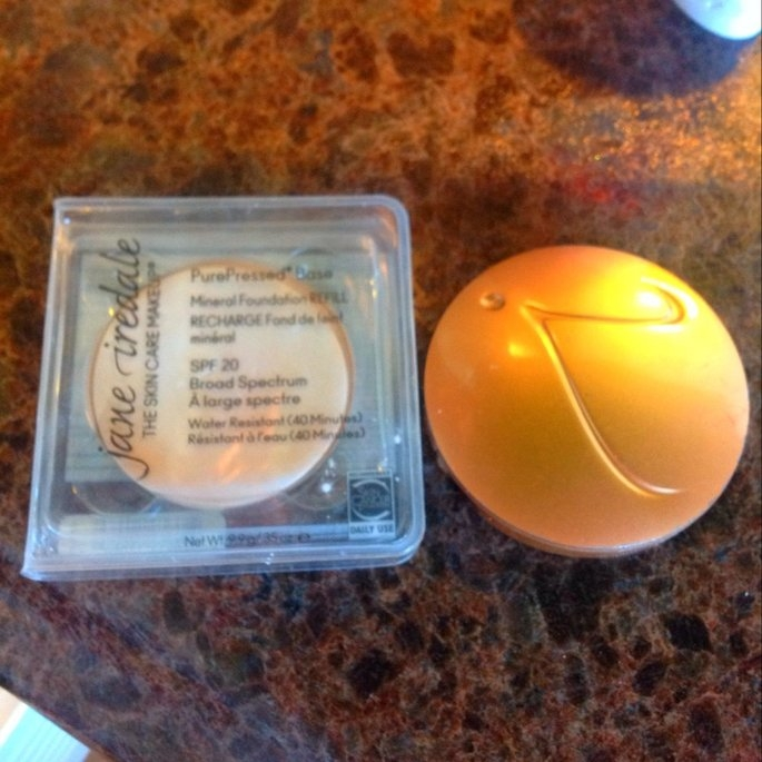 Jane Iredale PurePressed Base Refill Pan SPF 20 uploaded by Mandy C.