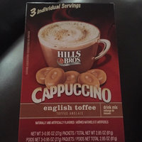 Hills Bros. Cappuccino Single Serve Cups, English Toffee uploaded by Sandra R.
