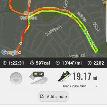 Nike Running App uploaded by Rania H.