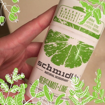 Schmidt's Bergamot + Lime Natural Deodorant uploaded by Mar L.