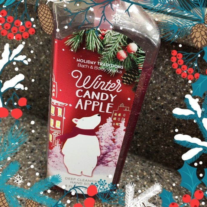 Bath & Body Works Deep Cleansing Hand Soap Winter Candy Apple uploaded by Brittany B.