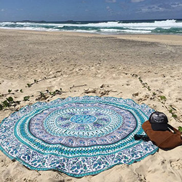 Photo of Ombre Medallion Beach Towel uploaded by Ivory G.
