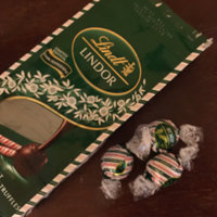 Lindt Lindor Peppermint Extra Dark Chocolate Truffles uploaded by Ann-Marie C.