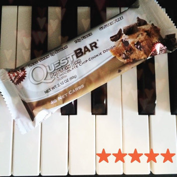 Quest Nutrition - QuestBar Natural Protein Bar Chocolate Chip Cookie Dough - 2.12 oz. uploaded by Brianna E.
