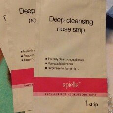 Photo of Epielle Deep Cleansing Nose Strips 3 Strips Each Box (3 Pack) uploaded by Ashley R.