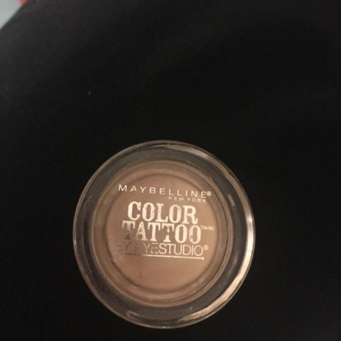 Maybelline Eye Studio Color Tattoo Leather 24HR Cream Gel Eyeshadow uploaded by Melanie R.