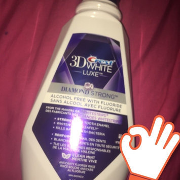 Crest 3D White Luxe Diamond Strong Anticavity Fluoride Rinse uploaded by Mackenzie B.