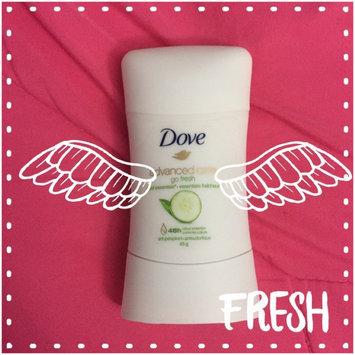 Dove® go fresh Cool Essential Cucumber & Green Tea Scent Anti-Perspirant Deodorant uploaded by Camille P.