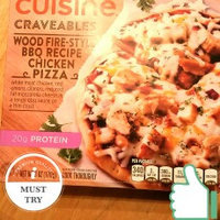 Lean Cuisine Culinary Collection Wood Fire Style Bbq Recipe Chicken Pizza uploaded by krista s.