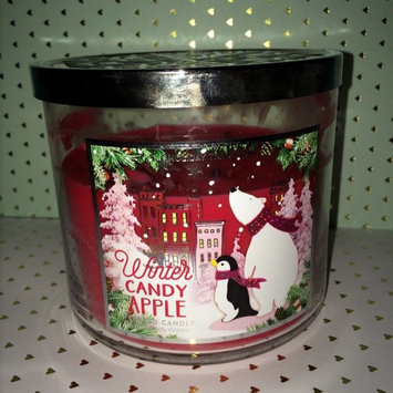 Photo of Bath & Body Works 1 X Bath and Body Works Winter Candy Apple 3 Wick Scented Candle 14.5 Oz. 2014 Edition uploaded by chloe f.