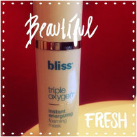 Bliss triple oxygen energizing foaming mask with cpr technology uploaded by Angela N.