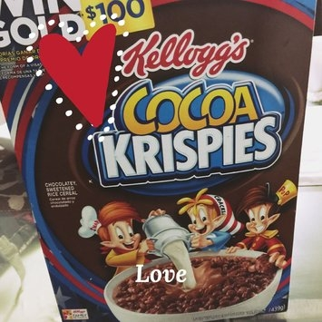 Kellogg's Cocoa Krispies Cereal uploaded by Zayra D.