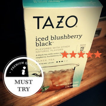 Photo of Tazo Iced Blushberry Black™ uploaded by Amanda S.
