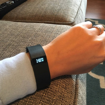 Photo of Fitbit - Charge Wireless Activity Tracker + Sleep Wristband (small) - Black uploaded by Katie C.