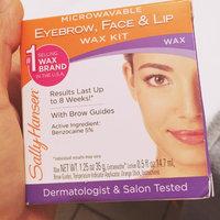 Sally Hansen Eyebrow, Face & Lip Wax, Microwaveable, wax 1.25 oz uploaded by Victoria H.