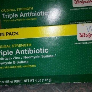 Walgreens Triple Antibiotic Ointment 2 pk - 2 oz. uploaded by Holly N.