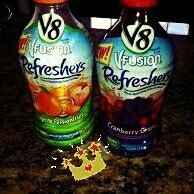 V8® V-Fusion® Fruit Juice Drink Refreshers Cranberry Grape 46 fl. oz. Plastic Bottle uploaded by Lucia T.