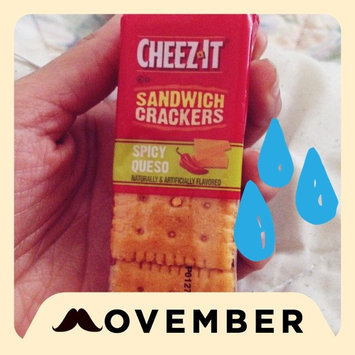 Photo of Cheez-It® Spicy Queso Sandwich Crackers 1.48 oz. Pack uploaded by Shanelle G.