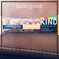 KIND Nuts & Spices Bars Caramel Almond & Sea Salt uploaded by Christian T.