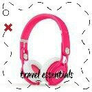 Beats By Dr Dre Mixr Headphones - Neon Pink, Pink uploaded by Zisswy H.