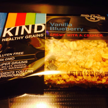Photo of KIND® Granola Bar Vanilla Blueberry uploaded by Samantha H.