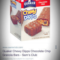 Quaker® Chewy Dipps Granola Bars Chocolate Chip uploaded by Cecilia M.