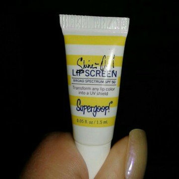 Photo of Supergoop! Shine On Lip Screen Broad Spectrum SPF 50 0.14 oz uploaded by Lily C.