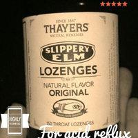 Thayers - Slippery Elm Lozenges Sugar-Free Original - 100 Lozenges uploaded by Sarah C.