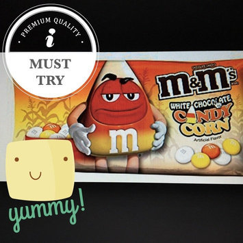 Photo of M&M'S® White Candy Corn Chocolate Candies uploaded by Erica R.