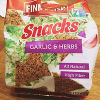 Finn Crisp Plus Garlic & Herbs Rye Snacks, 4.6 oz (Pack of 5) uploaded by Lena K.