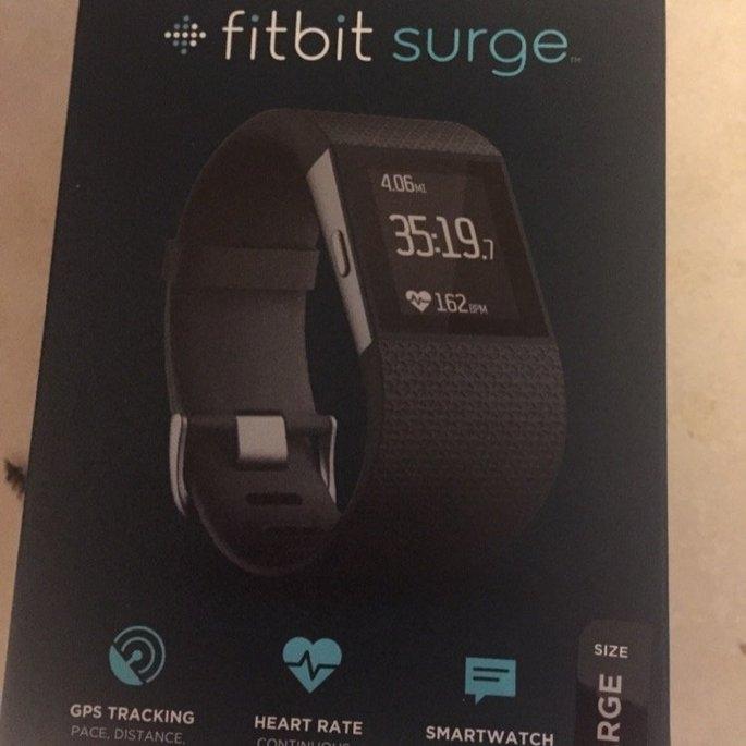 Fitbit Surge GPS Fitness Watch uploaded by Jussschwan  M.