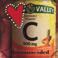 Spring Valley Chewable C Vitamin Multiple Fruit flavors Dietary Supplement 200 ct uploaded by Tonya C.