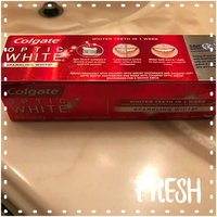 Colgate Optic White Anticavity Fluoride Toothpaste Sparkling Mint uploaded by lupe b.