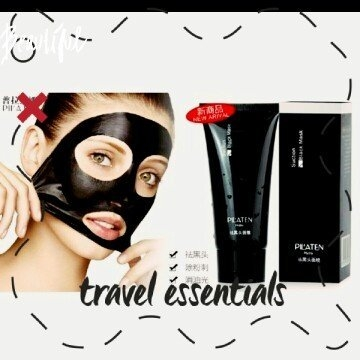 Genuine by Tarad Siam PILATEN blackhead remover,Tearing style Deep Cleansing purifying peel off the Black head,acne treatment,black mud face mask 60g uploaded by Keri D.