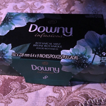 Photo of Downy Infusions Fabric Softener Sheets Botanical Mist - 90 CT uploaded by Jessica M.